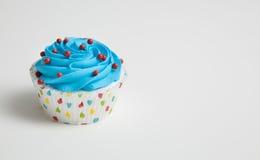 Крупный план цветастого пирожного Стоковое Изображение
