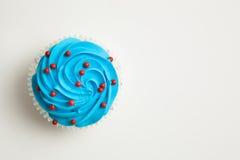 Крупный план цветастого пирожного Стоковое Изображение RF