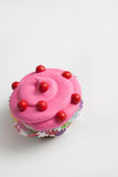 Крупный план цветастого пирожного Стоковая Фотография RF