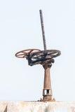 Крупный план шестерни червя Стоковые Фото