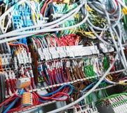 Крупный план электрических поставек стоковое фото