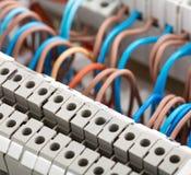 Электрические проводы стоковое фото rf