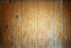Крупный план яркой деревянной предпосылки текстуры планок Стоковая Фотография