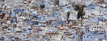 Крупный план Chefchaouen Medina Стоковое Изображение
