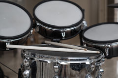 Крупный план Drumsticks Стоковое Изображение RF