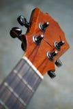 Крупный план headstock гавайской гитары Стоковая Фотография RF