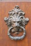 Крупный план knocker двери Стоковая Фотография RF