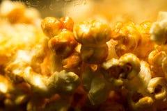 Крупный план tevstura попкорна Стоковое Изображение RF