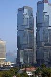 Крупный финансовый капитал в финансовом районе Гонконга Стоковые Фотографии RF