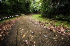 Крутая дорога горы Стоковая Фотография
