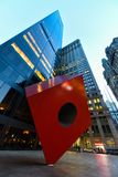 Крутая статуя в более низком Манхэттене стоковое изображение