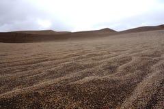Крутые песчанные дюны десерта холма Стоковые Фотографии RF