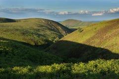 Крут-встали на сторону долина Стоковая Фотография RF