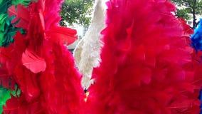 Крыла Анджела на уличном празднике Рио масленицы