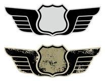 крыла дорожного знака хайвея Стоковая Фотография RF