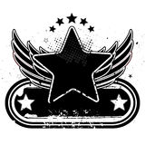 крыла звезды Стоковое фото RF
