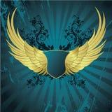 крыла знамени Стоковые Изображения RF