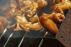 крыла померанца цыпленка Стоковая Фотография RF