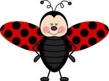 крыла ladybug Стоковое фото RF
