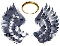 крыла nimbus Стоковая Фотография