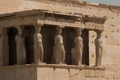 крылечко девушек athens Греции Стоковое Фото