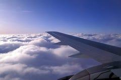 крыло воздушных судн стоковое изображение