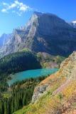 крыло горы озера grinnell ангела Стоковое фото RF