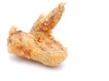 крыло зажженное цыпленком стоковые фотографии rf