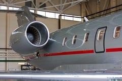 Крыло и двигатель Стоковая Фотография RF