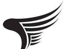 крыло логоса Стоковое Изображение RF