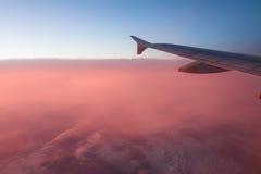 крыло неба облака Стоковое Изображение RF