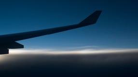 крыло подсказки горизонта Стоковое Фото