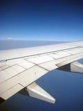 крыло полета воздушных судн Стоковая Фотография