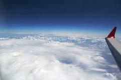 крыло самолета Стоковая Фотография RF