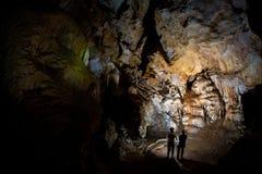 Крымская пещера Стоковые Изображения RF