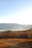 крымские горы ландшафта стоковое изображение rf