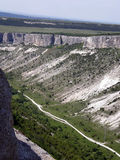 крымские горы Bakhchisarai Стоковые Изображения RF