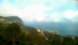 крымский луч горы света ландшафта kara dag Стоковые Фото