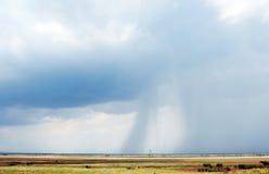 крымский неизбежный шторм степей Стоковые Фотографии RF