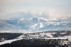 крымский луч горы света ландшафта kara dag Стоковые Фотографии RF