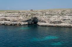 Крымское побережье Стоковая Фотография