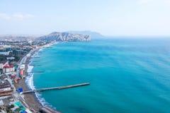 Крым, залив Sudak Стоковая Фотография RF