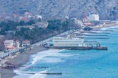 Крым, залив Sudak Стоковое Изображение
