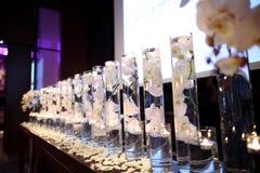 Крытая сцена свадьбы стоковые фотографии rf