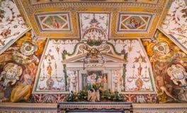 Крытое визирование в ` Este виллы d, Tivoli, Лацие, центральной Италии Стоковые Фото