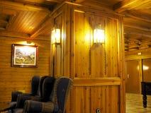 крытое деревянное Стоковые Изображения