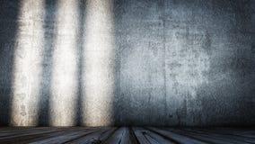 крытое деревянное Стоковое Изображение RF