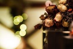 Крытое украшение дома рождества Стоковые Изображения