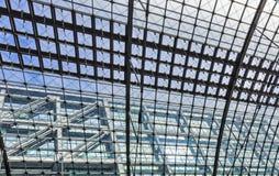 Крытое HDR снятое Hauptbahnhof Берлина Стоковая Фотография