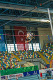 Крытые чемпионаты чашки в Стамбуле - Турции Стоковые Изображения RF